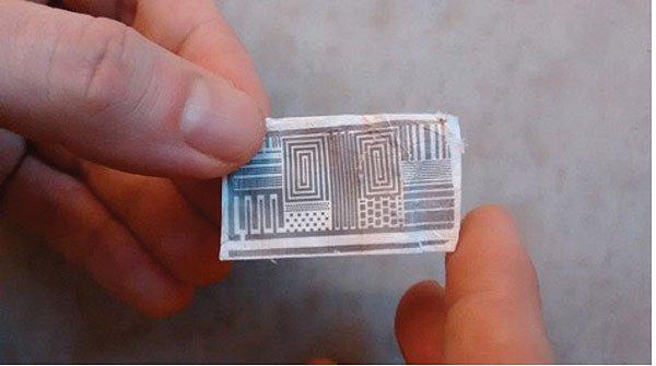 Figure 1. Eurekite's Flexible Ceramic Micro strip.