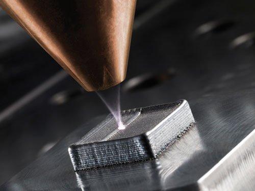 Figure 2: Laser metal deposition: