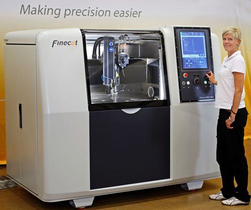 Rainford To Launch Micro Abrasive Waterjet Machine at