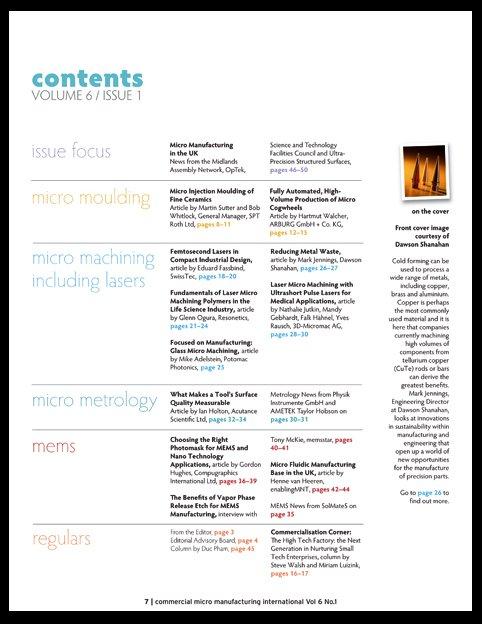 CMM 6.1 contents