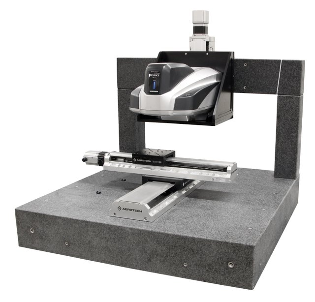Aerotech solution for Keyence VR5000 (Source: Aerotech)